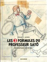 Blake et Mortimer 03:  Formules du professeur Sato découpage...