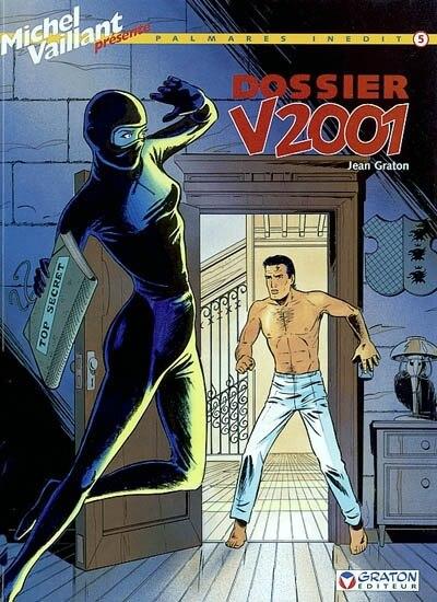 Michel Vaillant 05  Dossier V2001 by Jean Graton