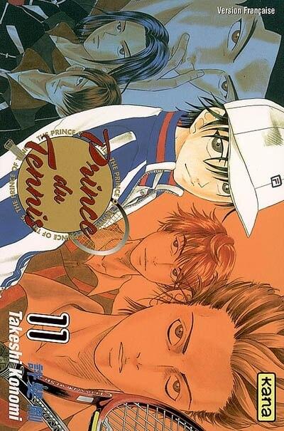 Prince du tennis 11 by Takeshi Konomi
