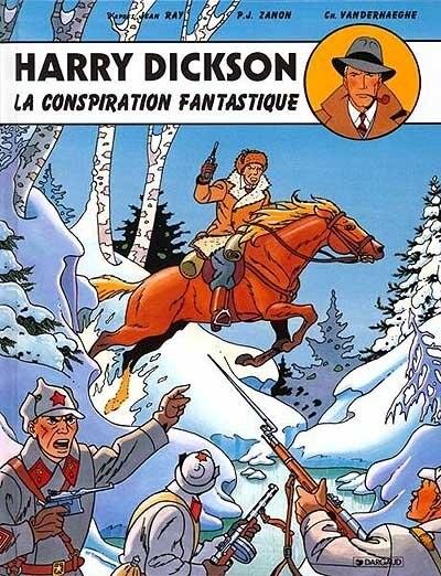 Harry Dickson 06  La conspirattion fantastique by Jean Van Hamme
