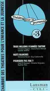 Théâtre pour la jeunesse, no 03 by COLLECTIF