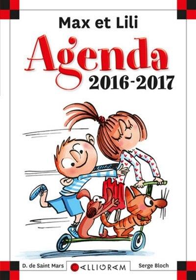 Max et Lili Agenda 2016-2017 by Dominique De Saint Mars