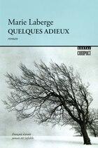 QUELQUES ADIEUX