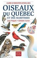 GUIDE IDENTIF.OISEAUX QUEBEC+CD INCLUS