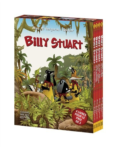 Billy Stuart Coffret 4 tomes de Alain M. Bergeron