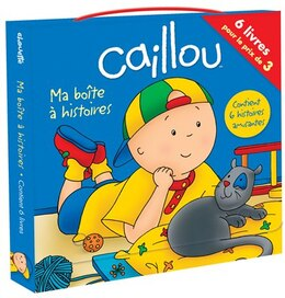 Book CAILLOU -MA BOITE A HISTOIRES (6) by Collectif