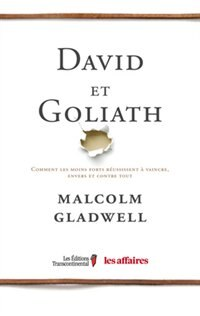 Book David et Goliath by Malcolm Gladwell