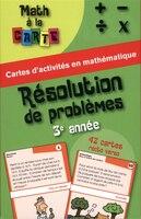Résolution De Problèmes - 3e Année