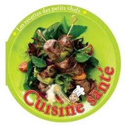 Book Cuisine santé recettes de petits chefs by Ting Morris