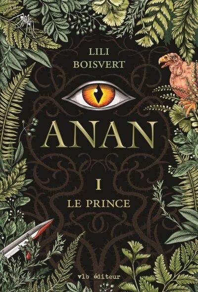 ANAN TOME 1 LE PRINCE de Lili Boisvert