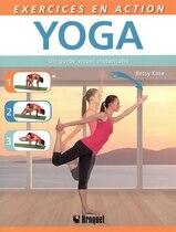 Livre Exercices en action Yoga de Betsy Kase