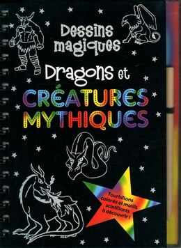 Book DRAGONS ET CREATURES MYTHIQUES by CLAUDINE GANDOLFI