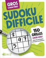 Sudoku difficile gros caractères