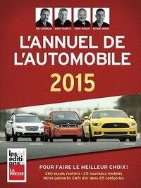 ANNUEL DE L'AUTOMOBILE 2015 (L')
