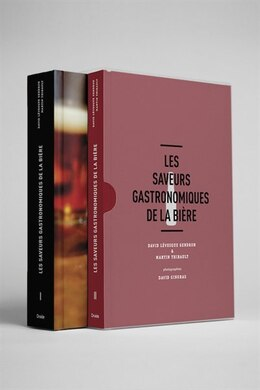 Book Les saveurs gastronomiques de la bière by David Lévesque Gendron