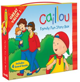 Book Caillou: Family Fun Story Box by Anne Chouette Publishing