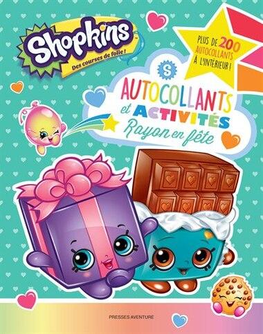 Shopkins Rayon en fête Autocollants et activités de Collectif