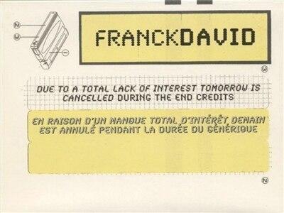 Franck David [français-anglais] by COLLECTIF