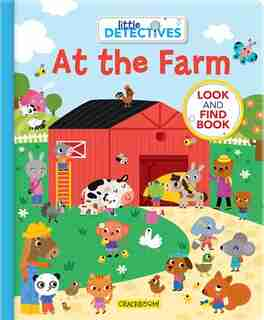 Little Detectives At The Farm: A Look And Find Book by Sonia Baretti