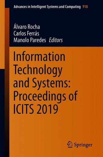 Information Technology And Systems: Proceedings Of Icits 2019 by Álvaro Rocha