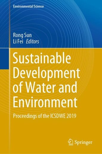 Sustainable Development Of Water And Environment: Proceedings Of The Icsdwe 2019 by Rong Sun