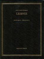 Gottfried Wilhelm Leibniz. Sämtliche Schriften und Briefe, BAND 1, Gottfried Wilhelm Leibniz…