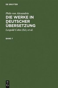 Die Werke in deutscher Übersetzung. Band 7 by Willy Theiler