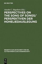 Perspectives On The Song Of Songs/perspektiven Der Hoheliedauslegung