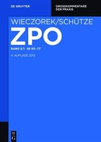 §§ 50-77 by Heinz-Peter Mansel