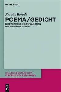 Poema / Gedicht by Frauke Berndt