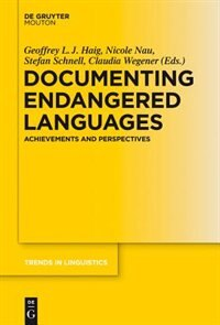 Documenting Endangered Languages by Geoffrey Haig