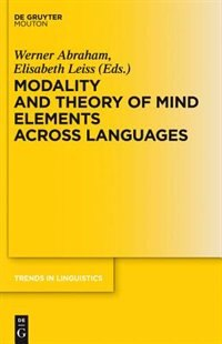 Modality and Theory of Mind Elements across Languages by Werner Abraham