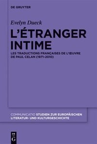 L'étranger intime by Evelyn Dueck