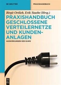 Praxishandbuch Geschlossene Verteilernetze und Kundenanlagen by Birgit Ortlieb