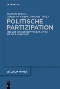 Politische Partizipation by Jürgen von Ungern-Sternberg