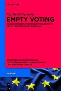 Empty Voting by Martin Mittermeier