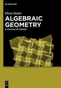 Algebraic Geometry by Elena Rubei