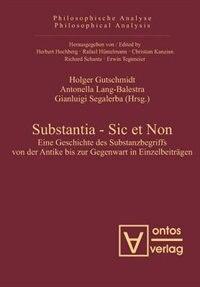 Substantia - Sic et Non by Holger Gutschmidt