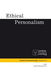 Ethical Personalism by Cheikh Mbacke Gueye