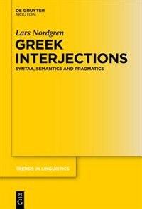 Greek Interjections by Lars Nordgren