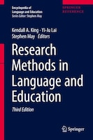 Research Methods In Language And Education