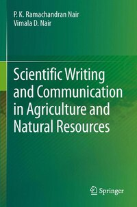 Scientific Writing and Communication in Agriculture and Natural Resources