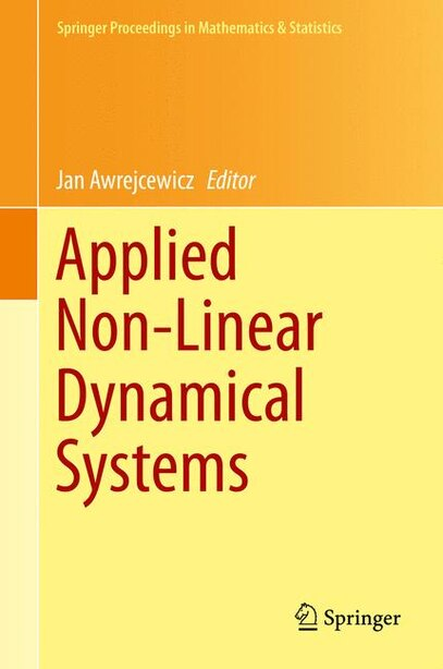 Applied Non-Linear Dynamical Systems by Jan Awrejcewicz