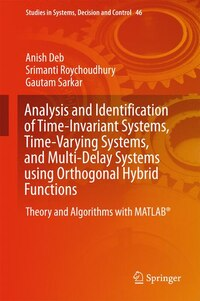 Analysis And Identification Of Time-invariant Systems, Time-varying Systems, And Multi-delay…