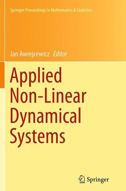 Applied Non-linear Dynamical Systems by Jan Awrejcewicz