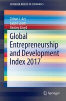 Global Entrepreneurship And Development Index 2017