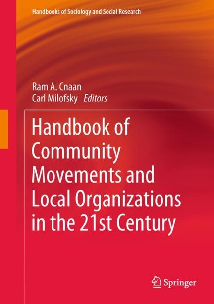Handbook Of Community Movements And Local Organizations In The 21st Century by Ram A. Cnaan