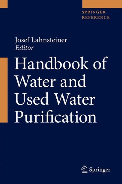 Handbook Of Water And Used Water Purification by Josef Lahnsteiner