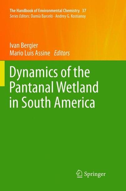 Dynamics of the Pantanal Wetland in South America by Ivan Bergier
