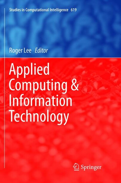 Applied Computing and Information Technology by Roger Lee